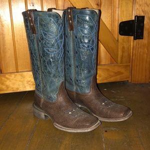 Mid calf Ariat boots